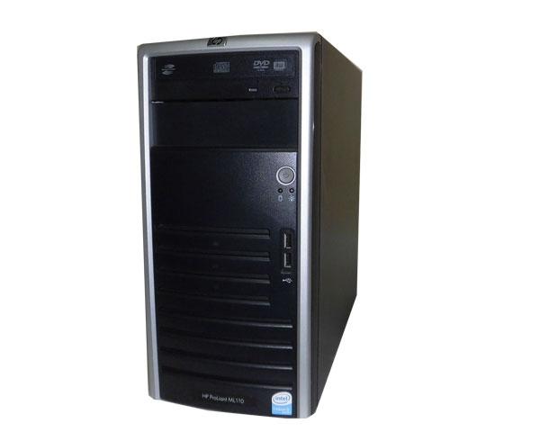 中古 HP ProLiant ML110 G4 417710-B21 CeleronD-3.2GHz 1GB 73GB×1 (SAS) DVDマルチ Smart アレイ E200i