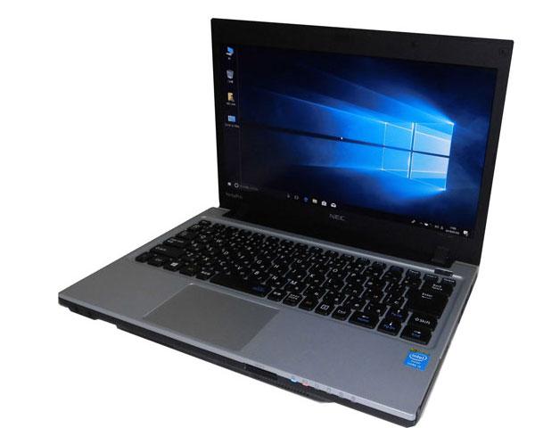 難あり 中古ノートパソコン Windows10 Pro 64bit NEC VersaPro VK26MC-H (PC-VK26MCZNH) Core i5-4300M 2.6GHz 8GB SSD 128GB 光学ドライブなし 13.3インチ 高解像度 HD+(1600×900)