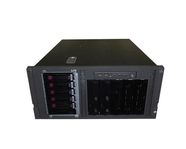 中古 HP ProLiant ML350 G5 458244-B21 ラック型 Xeon E5410 2.33GHz 2GB 300GB×1(SAS 3.5インチ) Smart アレイ E200i AC*2