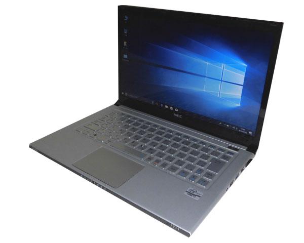 難あり 中古ノートパソコン Windows10 Pro 64bit NEC VersaPro VJ19SG-F (PC-VJ19SGZDF) Core i7-3517U 1.9GHz 4GB SSD 128GB 光学ドライブなし 13.3インチ 高解像度 HD+ (1600×900)