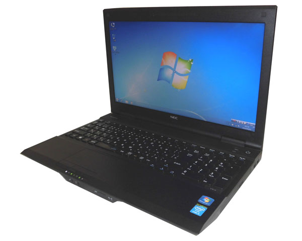 Windows7 Pro 32bit NEC VersaPro VK26MX-H (PC-VK26MXZCH) 第4世代 Core i5-4300M 2.6GHz 4GB 320GB DVD-ROM 15.6インチ 新品キーボード