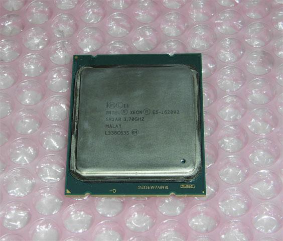 本物◆ 中古CPU Intel Xeon E5-1620 V2 PRECISION T3610取外し品 SR1AR 3.7GHz アウトレット☆送料無料 4コア