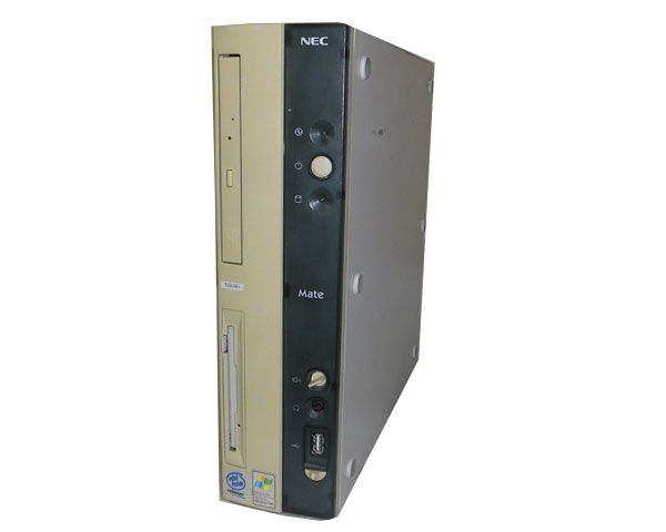 OSなし NEC MATE MA14H (PC-MA14HEZ56RJB) Celeron-1.4GHz 512MB HDDなし CD-RW 中古パソコン