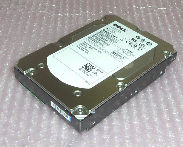 今だけスーパーセール限定 本物 DELL 0XX518 ST3146356SS 中古 146GB SAS 15k XX518 3.5インチ