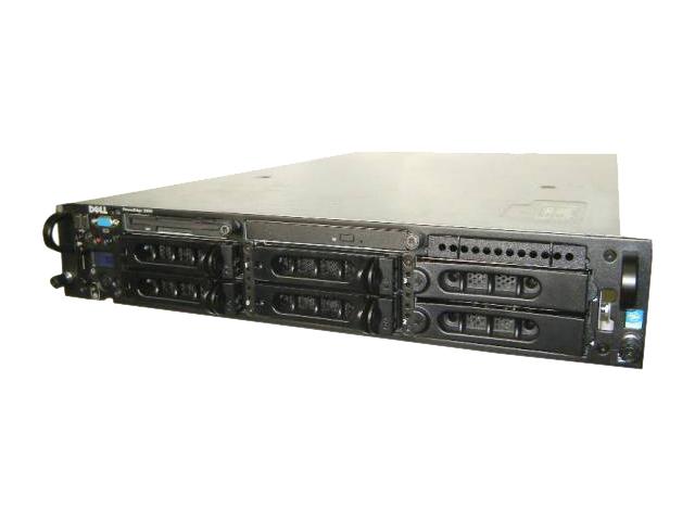 DELL PowerEdge 2850 【中古】Xeon 2.8GHz×1/2GB/HDDレス(別売り)