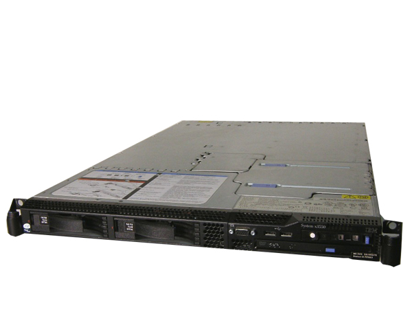 IBM System X3550 7978-PAT【中古】Xeon 5110 1.6GHz/2GB/HDDレス(別売り)
