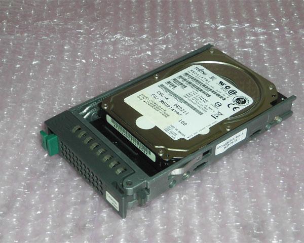 富士通 専門店 保証 PGBHDD41C MBD2147RC SAS 146GB 10K 2.5インチ 中古ハードディスク