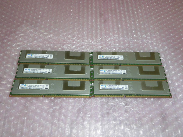 SAMSUNG PC3-10600R 24GB 4GB×6 2R×4 バースデー 記念日 ギフト 贈物 お勧め 通販 PRIMERGY 富士通 S6用 RX300 結婚祝い 中古メモリー
