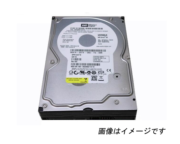 HP 484429-003 (WD1602ABKS) 【中古】SATA 160GB 3.5インチ
