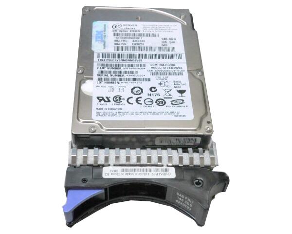 IBM 注目ブランド 43X0833 年間定番 SAS 146GB 10K 2.5インチ 中古ハードディスク