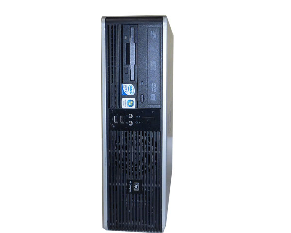 WindowsXP HP dc5700 SFF Core2Duo 4300 1.8GHz 2GB 80GB DVD-ROM 中古パソコン デスクトップ