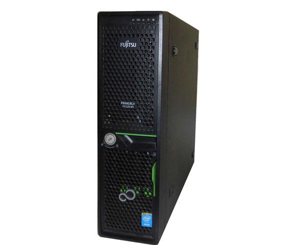 中古 富士通 PRIMERGY TX1310 M1 (PYT1321T2S) Xeon E3-1220 V3 3.1GHz 4GB 146GB×2 SAS