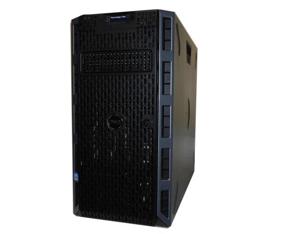 中古 DELL PowerEdge T320 Xeon E5-1410 V2 2.8GHz 8GB 1TB×3(SATA) AC*2 PERC H310
