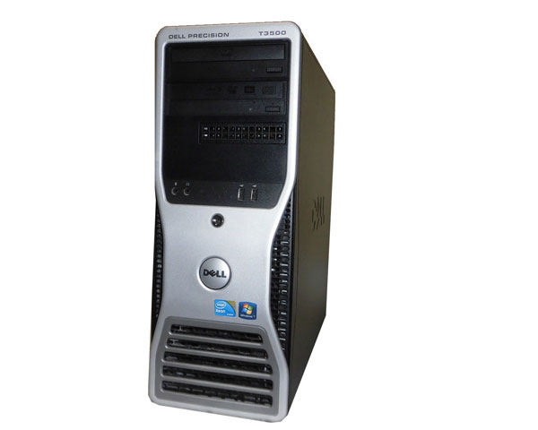 Windows7 Pro 64bit DELL PRECISION T3500 Xeon W3540 2.93GHz 24GB 1TB Quadro FX1800 中古ワークステーション