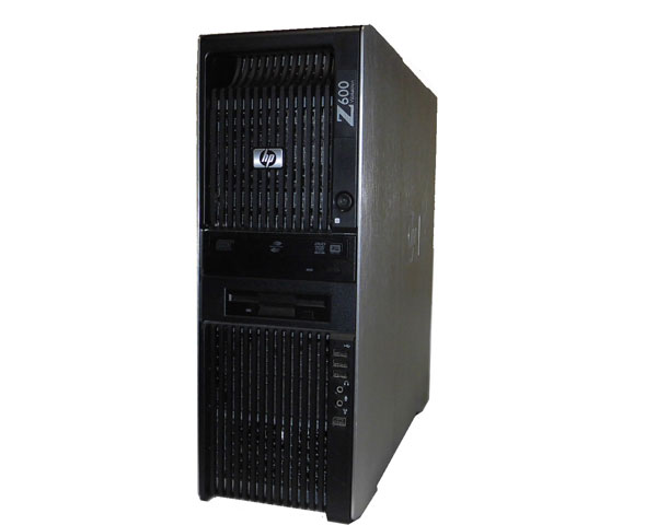 Windows7 Pro 64bit HP Workstation Z600 FW863AV Xeon E5504 2.0Ghz×2基 12GB 500GB Quadro FX3800