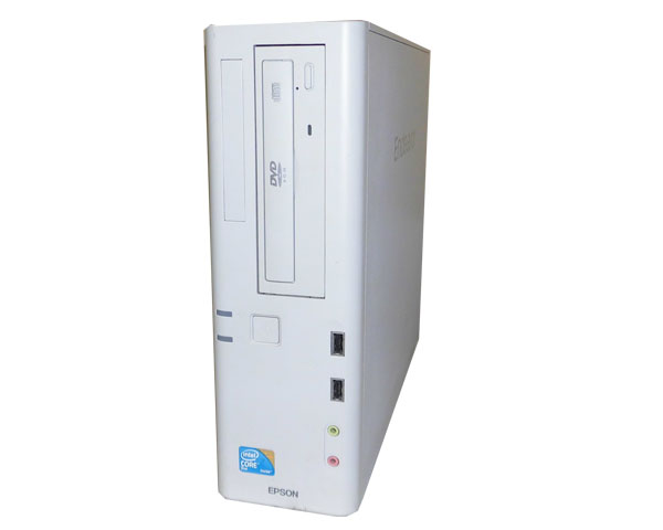 Windows7 EPSON Endeavor AT971 Core2Duo E7500 2.93GHz 2GB 250GB DVD-ROM 中古パソコン