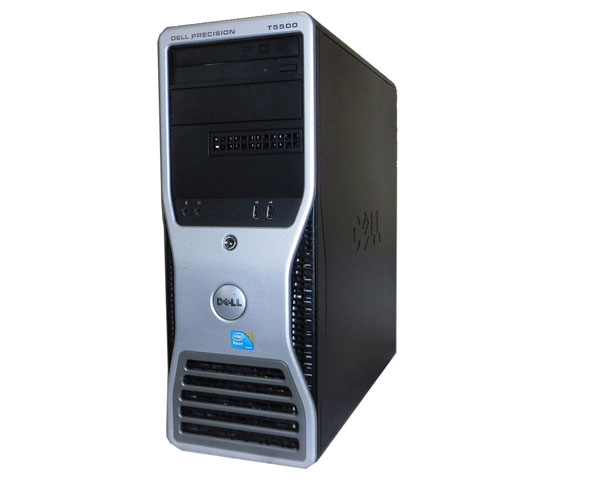 Windows7 Pro 64bit DELL PRECISION T5500 Xeon X5680 3.33GHz 24GB 500GB Quadro FX3800 中古ワークステーション