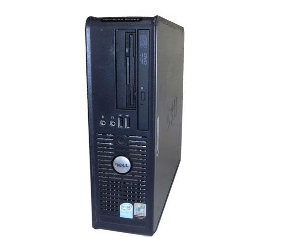 外観難あり DELL OPTIPLEX GX520 SFF CeleronD-2.8GHz 512MB 80GB DVDコンボ 中古パソコン WindowsXP