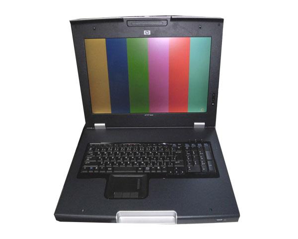 難あり HP TFT7600ラックマウント型キーボード/モニター(AG064A)【中古】