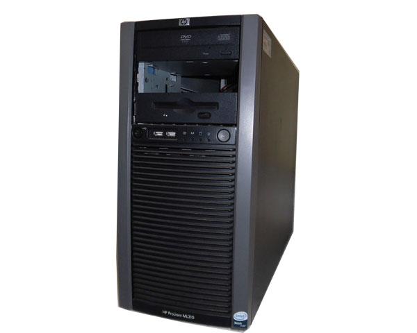 中古 HP ProLiant ML310 G5p 445343-B22 Xeon E3120 3.16GHz 2GB 72GB×3 DVD-ROM