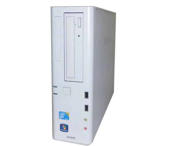 Windows7 EPSON Endeavor AT971 Core2Duo E7500 2.93GHz 2GB 500GB DVDマルチ 中古パソコン