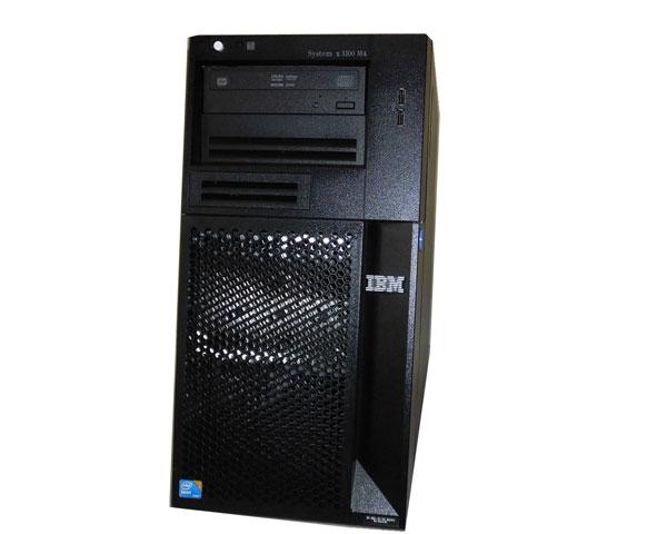 中古 IBM System x3100 M4 2582-PCG Xeon E3-1220 V2 3.1GHz 8GB 300GB×2 (SAS) DVDマルチ AC*2