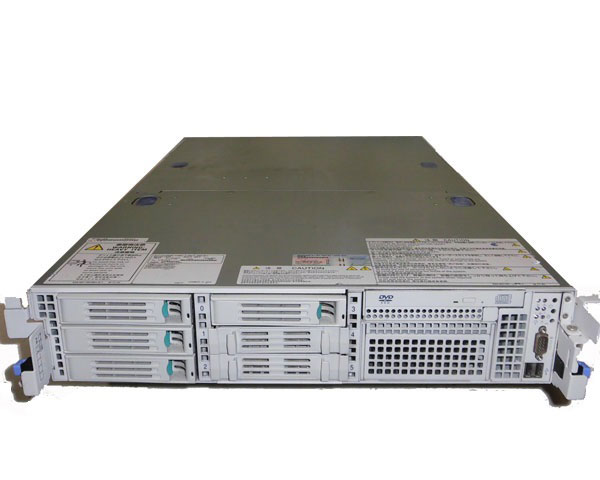 中古 NEC Express5800/120Rj-2 (N8100-1408) Xeon E5205 1.86GHz×2基 4GB 73GB×1 (SAS) DVD-ROM