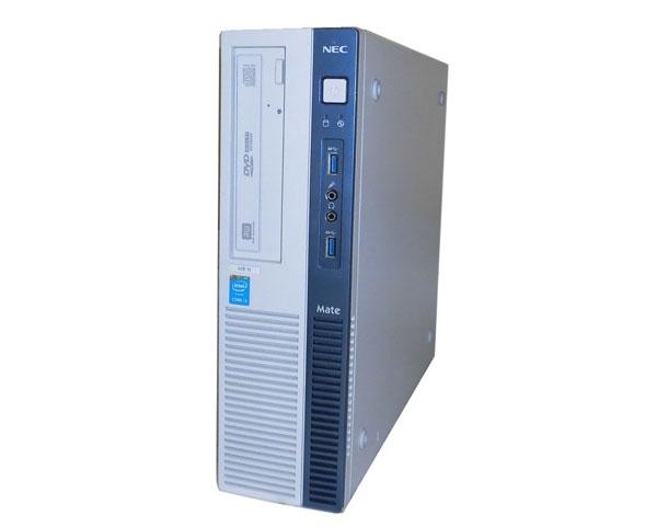 Windows10 Pro 64bit NEC Mate MK37LB-N (PC-MK37LBZGN) 第4世代 Core i3-4170 3.7GHz 4GB 500GB DVDマルチ 中古パソコン デスクトップ ビジネスPC 省スペース 本体のみ