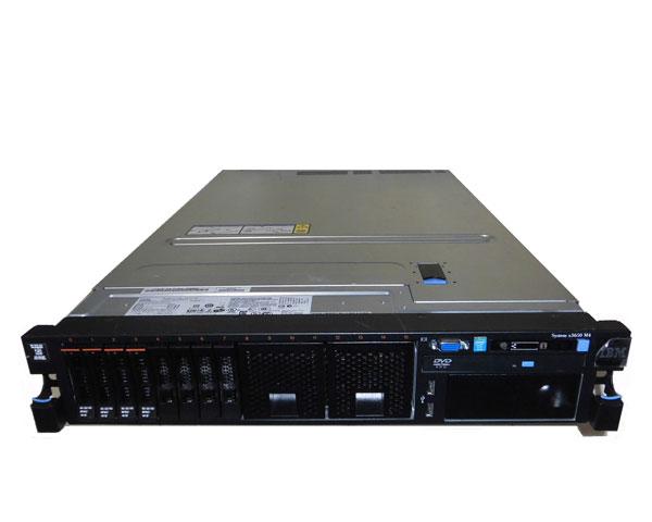 中古 IBM System x3650 M4 7915-B2J Xeon E5-2609 2.4GHz 8GB 146GB×3 SAS DVD-ROM AC*2 ServeRAID M5110e
