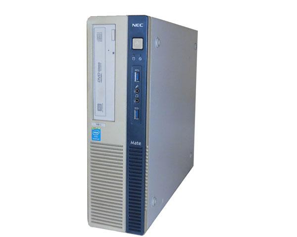 外観難あり NEC Mate MK31RB-J (PC-MK31RBZDJ) Windows10 Pro 64bit Pentium G3240 3.1GHz 4GB 500GB DVDマルチ 中古パソコン デスクトップPC
