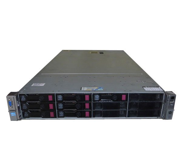 外観難あり 中古 HP ProLiant DL380e Gen8 668667-291 Xeon E5-2440 2.4GHz 12GB 450GB×1 (SAS) AC*2 Smartアレイ P420
