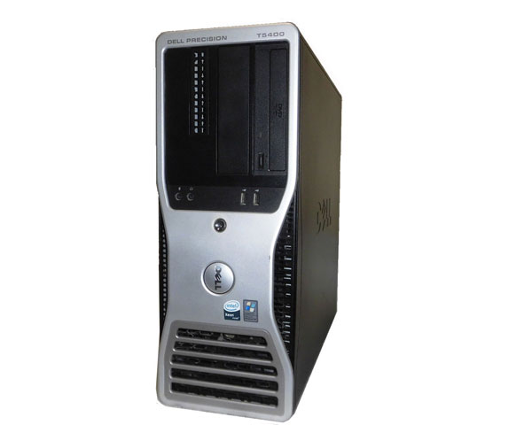WindowsXP DELL PRECISION T5400 Xeon X5450 3.0GHz×2 4GB 160GB FX1700 中古ワークステーション