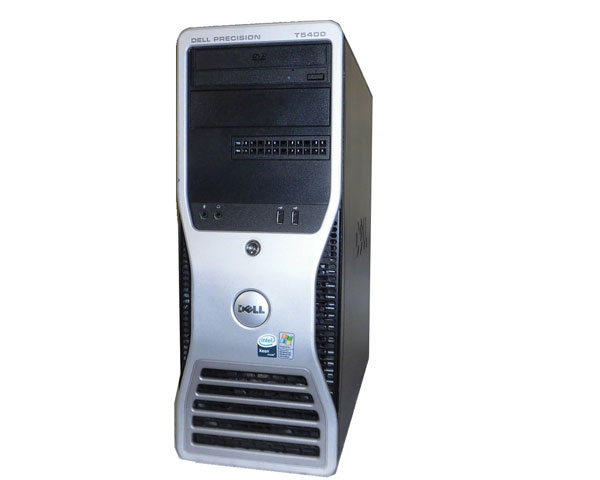 WindowsXP Pro 64bit DELL PRECISION T5400 Xeon X5460 3.16GHz 8GB 500GB FX3700 中古ワークステーション