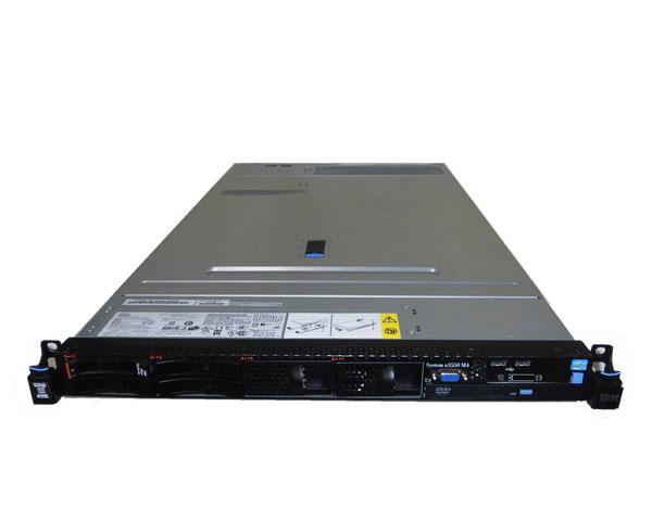中古 IBM System X3550 M4 7914-32J Xeon E5-2643 3.3GHz 16GB 300GB×1 (SAS 2.5インチ) DVD-ROM AC*2