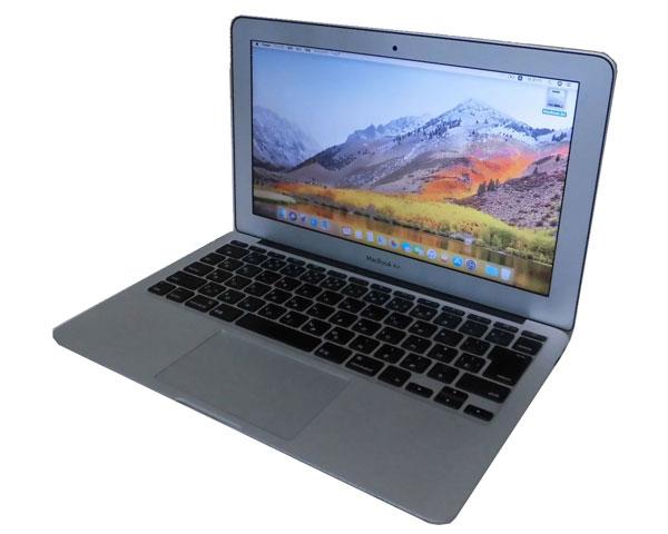 Apple MacBook Air A1370 Core i5-2467M 1.6GHz 4GB SSD 128GB 光学ドライブなし Webカメラ 無線LAN 中古パソコン ノート
