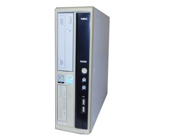 外観難あり OSなし NEC MATE MY18X/R-4 (PC-MY18XRZ74) Celeron 430 1.8GHz 1GB 40GB CD-ROM