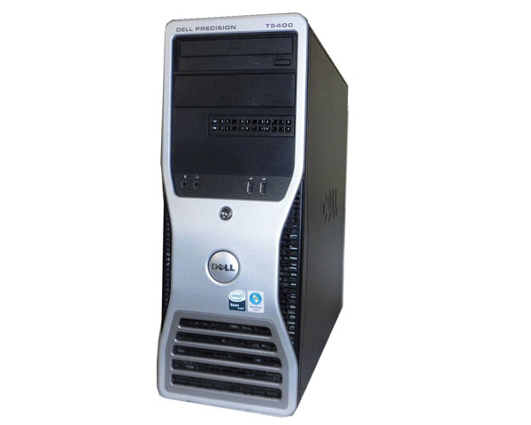 OSなし DELL PRECISION T5400 Xeon X5460 3.16GHz 8GB 500GB Quadro FX3700 中古ワークステーション