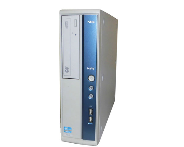 Windows7 Pro 32bit NEC Mate MK32MB-F (PC-MK32MBZDF) Corei5 3470 3.2GHz 2GB 250GB DVD-ROM 中古パソコン デスクトップ 本体のみ