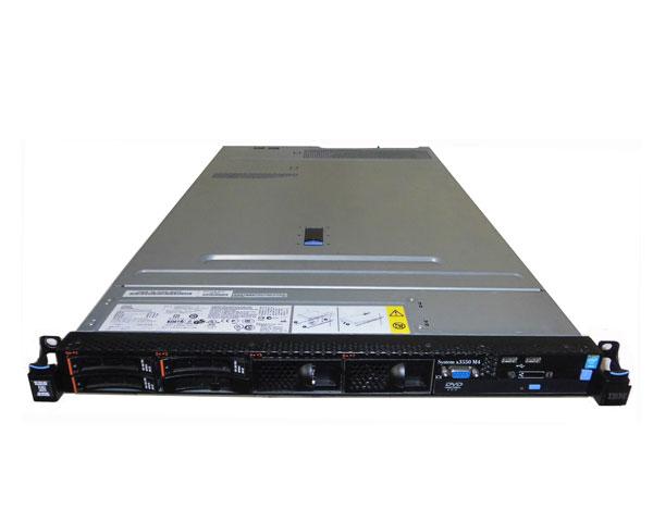 中古 IBM System X3550 M4 7914-PJK Xeon E5-2620 V2 2.1GHz 16GB 300GB×1 (SAS 2.5インチ) DVD-ROM AC*2