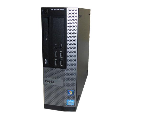 OSなし DELL OPTIPLEX 9010 SFF Corei5 3470 3.2GHz 4GB HDDなし DVD-ROM 中古パソコン デスクトップ 本体のみ