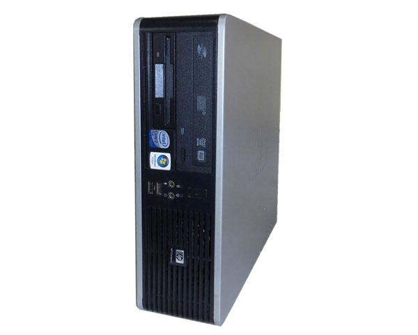 WindowsXP HP dc5800 SFF FX899PA#ABJ Core2Duo E7300 高級な 中古パソコン 2GB マルチ 80GB 超人気 デスクトップ 本体のみ 2.6GHz