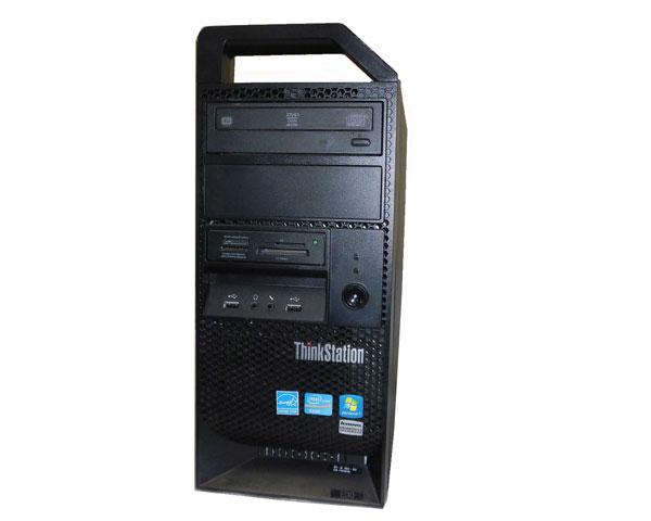 Windows7 Lenovo ThinkStation E30 7824-92J Xeon E3-1240 3.3GHz 8GB 250GB Quadro 400 中古ワークステーション