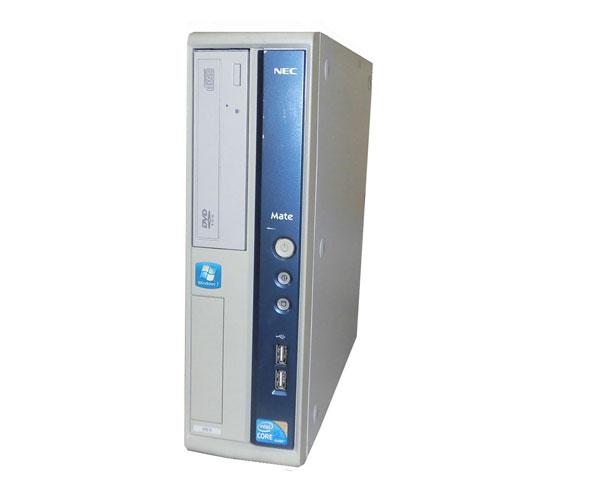 外観難あり Windows7 Pro 32bit NEC Mate MK32MB-B (PC-MK32MBZCB) Corei5 650 3.2GHz 4GB 250GB DVD-ROM 中古パソコン デスクトップ 本体のみ