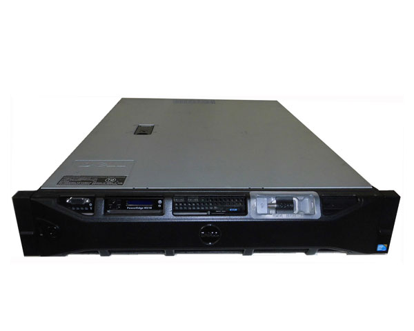 中古 DELL PowerEdge R510 Xeon 6core E5649 2.53GHz 6GB 300GB×2 SAS DVD-ROM AC*2