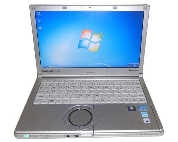難あり Windows7 Panasonic Let'sNote CF-SX2(CF-SX2JE4DS) Core i5-3320M 2.6GHz 4GB 500GB DVDマルチ 無線LAN HDMI Webカメラ 12.1インチ 中古パソコン ノート レッツノート Win7