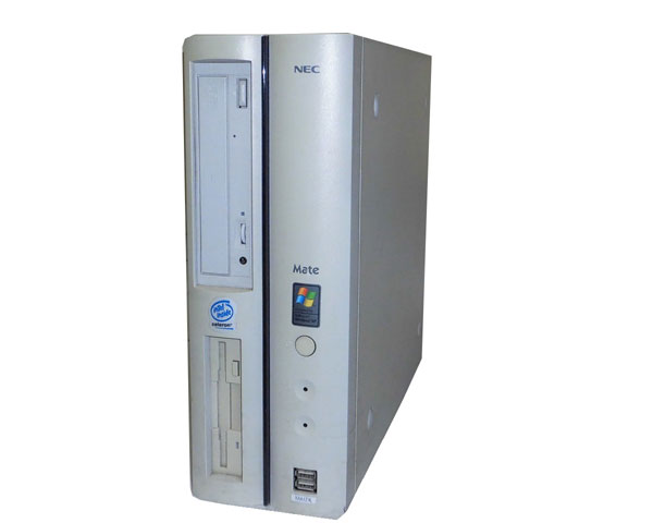 OSなし NEC MATE MY17X (PC-MA17XRZEB) Celeron-1.7GHz 512MB HDDなし CD-ROM