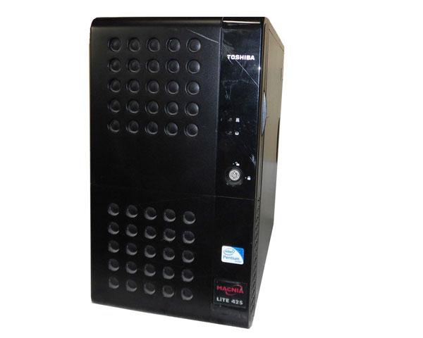 中古 東芝 MAGNIA Lite42S (SYU4240B) Pentium-G6950 2.8GHz 2GB 250GB×2