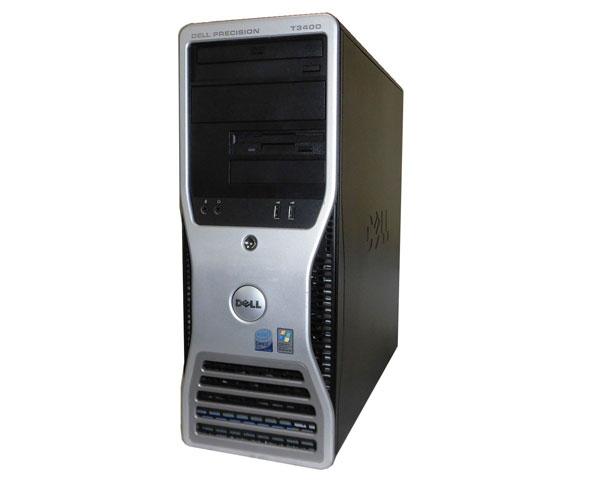 OSなし 難あり DELL PRECISION T3400 中古ワークステーション Core2Duo E8400 3.0GHz 2GB 160GB Quadro FX570