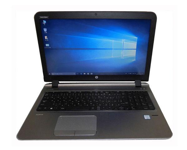 HP ProBook 450 G3 (N8K04AV) Windows10 Pro 64bit 第6世代 Core i5-6200U 2.3GHz 4GB 500GB DVDマルチ WPS Office付き テンキー Webカメラ 中古ノートパソコン 中古PC ノート