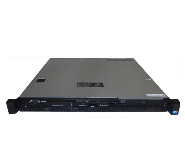 中古 DELL PowerEdge R220 Xeon E3-1240L V3 2.0GHz 12GB 500GB×1 (SATA) DVD-ROM